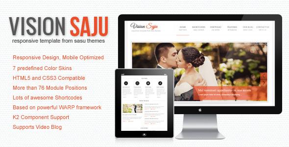 Vision Saju - Responsive Joomla Template