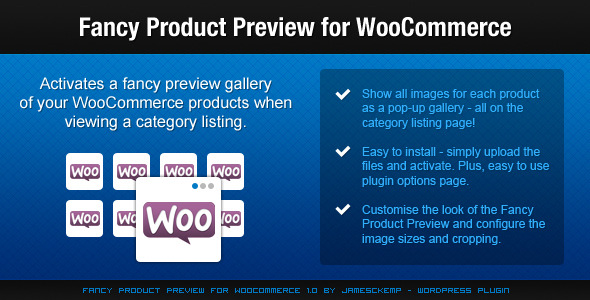 CodeCanyon Fancy Product Preview For WooCommerce 2536372