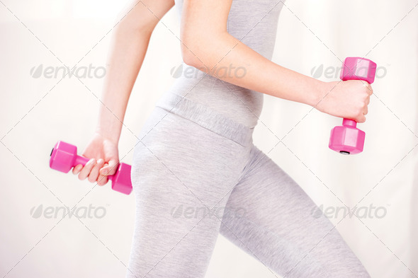fitness exercises - Stock Photo - Images