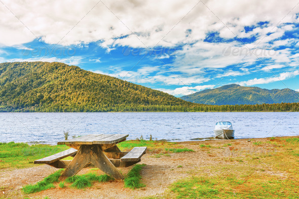 Lakeside - Stock Photo - Images