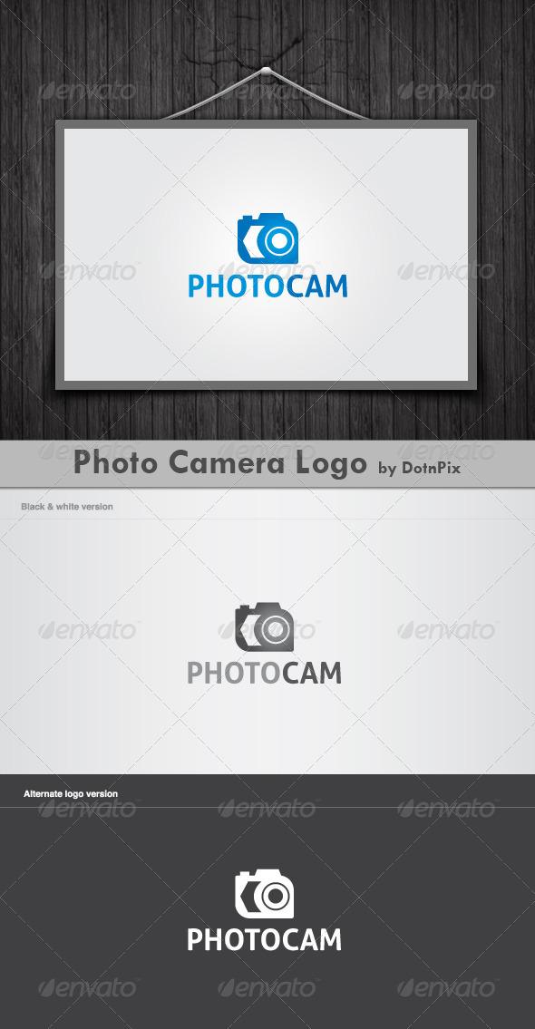 Photo Camera Logo - Vector Abstract