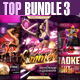Top Party Flyer Bundle Vol3 - GraphicRiver Item for Sale