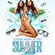 Summer Splash - Party and Club Flyer - GraphicRiver Item for Sale