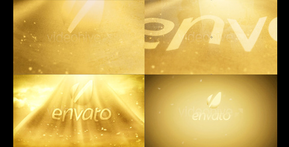 After Effects Project - VideoHive Gold cloth epic 2510876