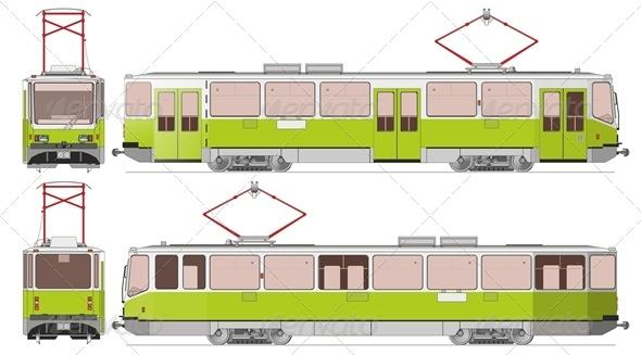Vector City Tram