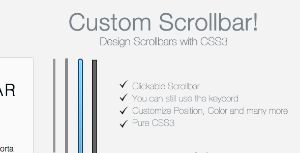 CodeCanyon Customized Scrollbars 2503624