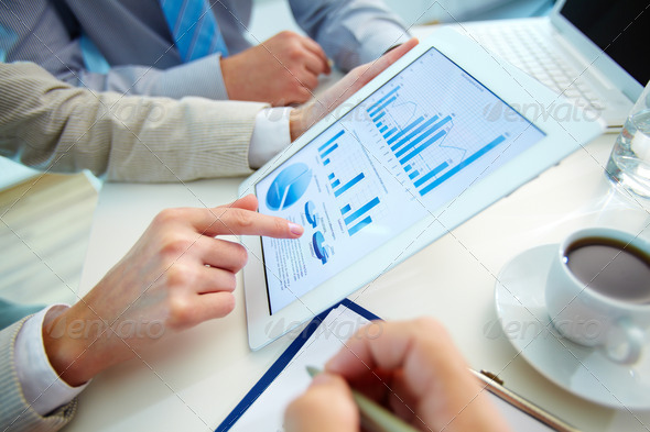 Market analysis - Stock Photo - Images