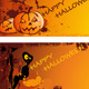 Download Vector Halloween Banners