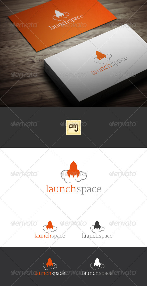 Launch Space Logo Template - Symbols Logo Templates