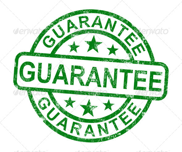 PhotoDune Guarantee Stamp Shows Assurance And Risk Free 2540674