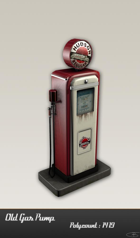 3DOcean Old Gas Pump 2540750