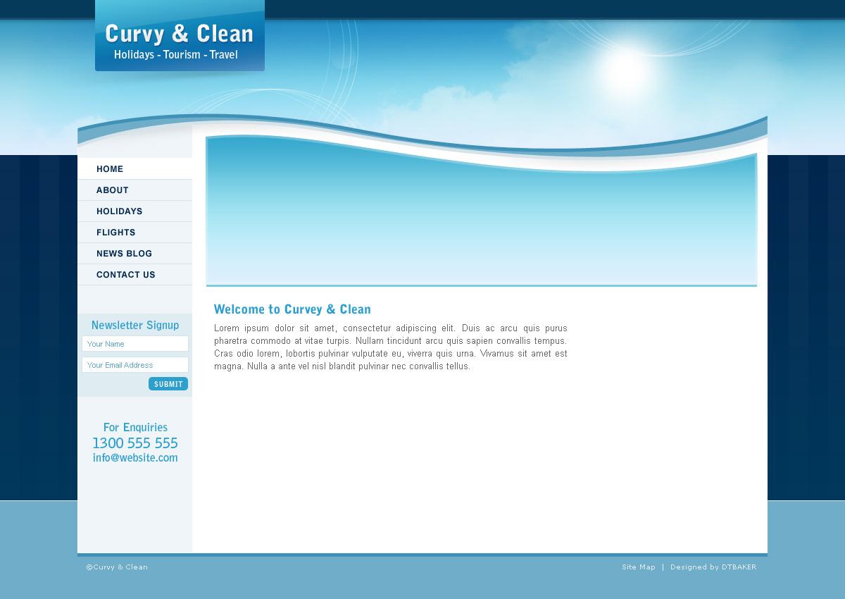 Blank Web Template