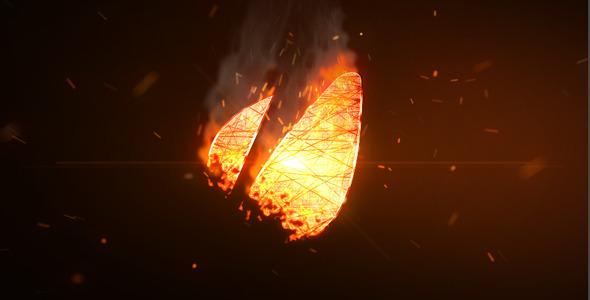 VideoHive Logo Fire 2527926