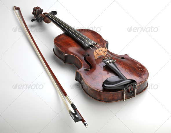 classical violin instrument - Stock Photo - Images