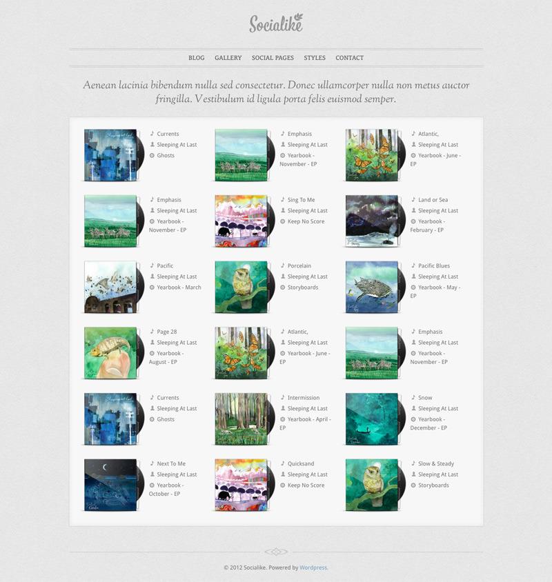 Socialike Responsive WordPress Blog & Social Pages