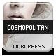 Cosmopolitan - Business WordPress HTML 5 Theme