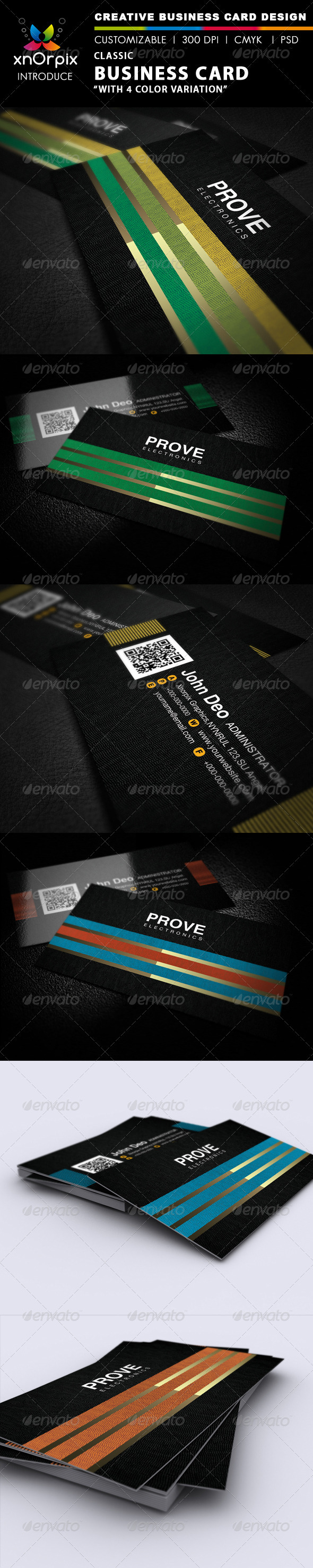 Classic Business Card - Corporate Business Cards