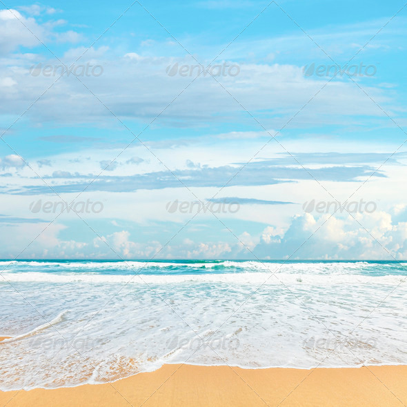 Beach - Stock Photo - Images