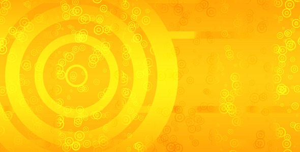 Abstract Circles Background Looped Animation