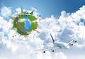 traveling the world dream globe concept - PhotoDune Item for Sale
