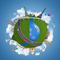 world travel globe concept - PhotoDune Item for Sale