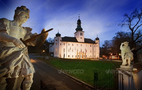 The Chateau Hotel of Trest - Stock Photo - Images