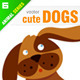 Cute Dogs - GraphicRiver Item for Sale