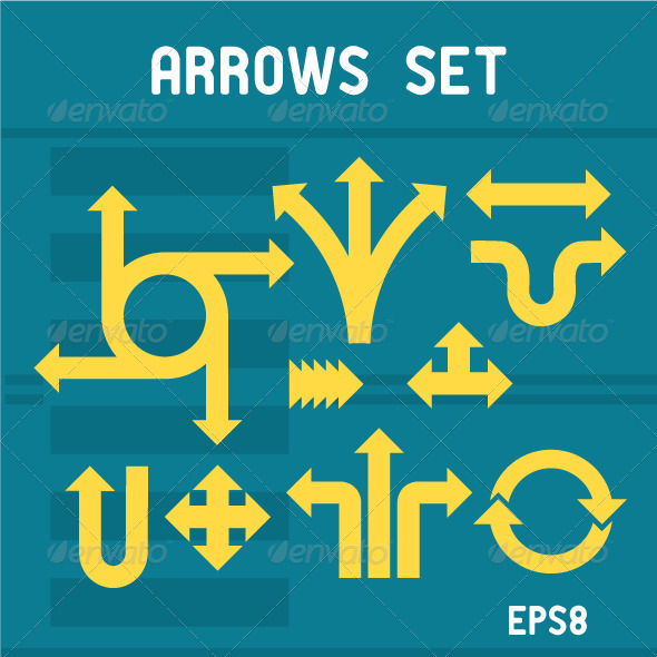 Arrows Set - Miscellaneous Characters