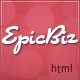EpicBiz - HTML Theme - ThemeForest Item for Sale