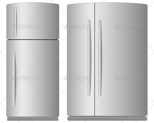 refrigerator - Objects Vectors