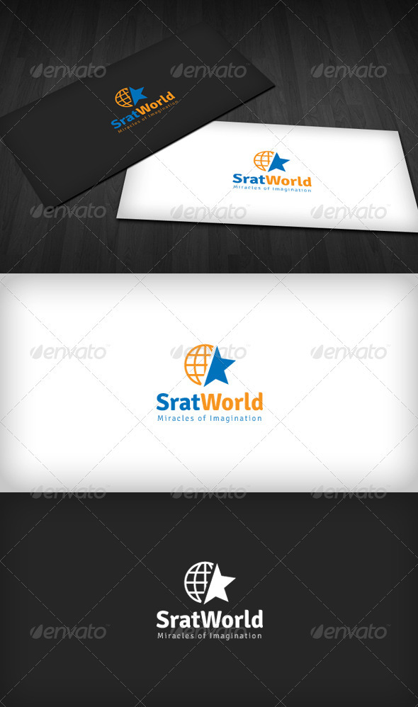Star World Logo - Symbols Logo Templates