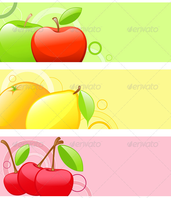 Bright Fruit Backgrounds