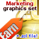 Marketing Graphics Set! - GraphicRiver Item for Sale