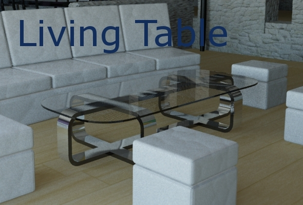 3DOcean Living Table 2546981