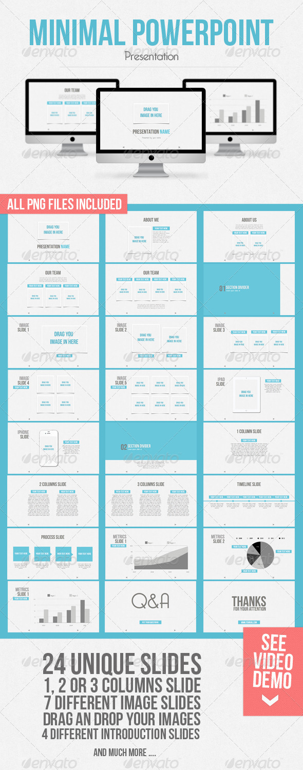 Minimal Powerpoint HD widescreen - Powerpoint Templates Presentation Templates