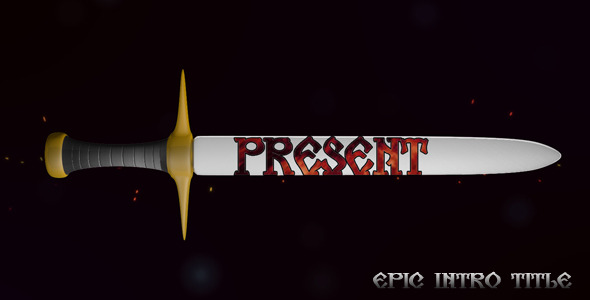After Effects Project - VideoHive Epic Intro Title 2547136