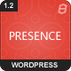 Presence Business Showcase WordPress Theme - ThemeForest Item for Sale