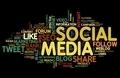 Social media in tag cloud - PhotoDune Item for Sale
