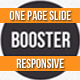 BOOSTERIUS - Responsive one page slide WordPress theme - ThemeForest Item for Sale