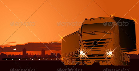 Vector Abstract Logistic Theme Background