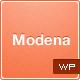 Modena Responsive Portfolio WordPress Theme