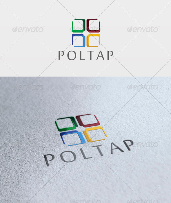 Poltap Logo - Vector Abstract