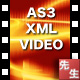 AS3 XML Playlist Video Player - ActiveDen Item for Sale