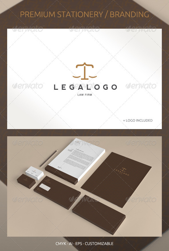 GraphicRiver Legal and Lawyer Corporate Identity 2551156