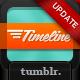 Timeline – Premium Tumblr Theme  Free Download