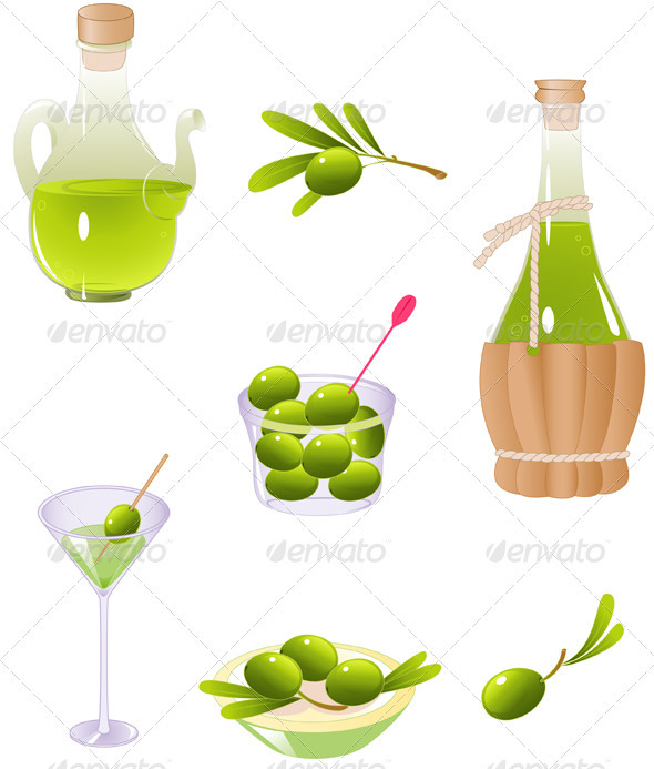 GraphicRiver Olives and Olive Oil 2553383