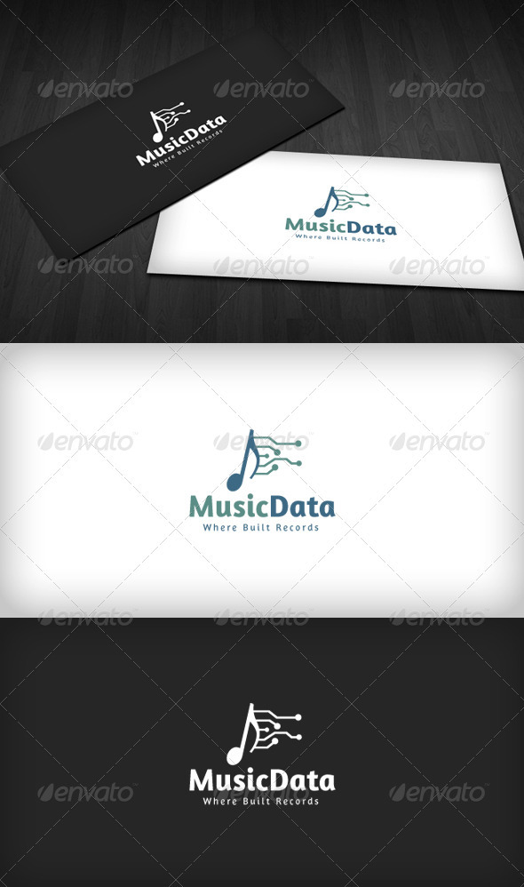 Music Data Logo
