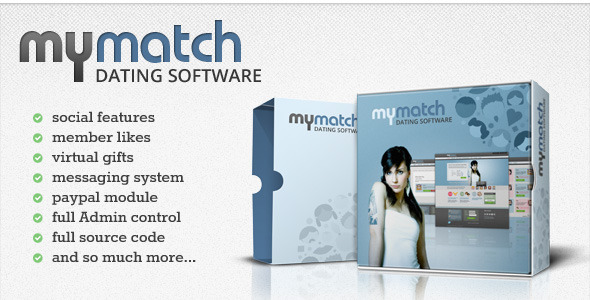 CodeCanyon MyMatch Build your own Dating Websites 2553965