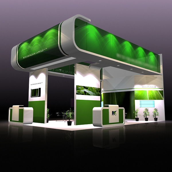3DOcean Exhibit Booth Design 019 286090