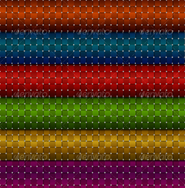 6 Mosaic Patterns - Textures / Fills / Patterns Photoshop